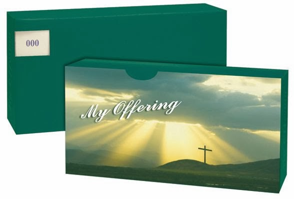 2014 Church Offering Envelopes First Baptist Church Of